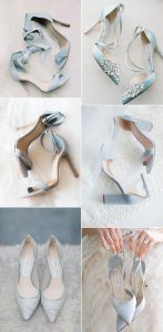 trending shades of blue wedding bridal shoes for 2020