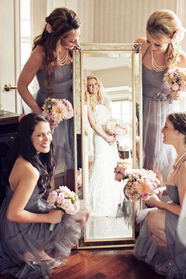 Wonderful Wedding Photo Ideas with Your Bridesmaids