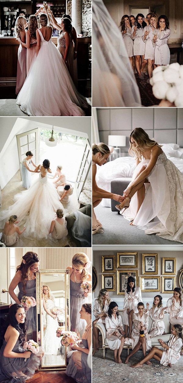 must have wedding photo ideas with your bridesmaids