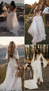 gorgeous boho chic wedding dresses 5