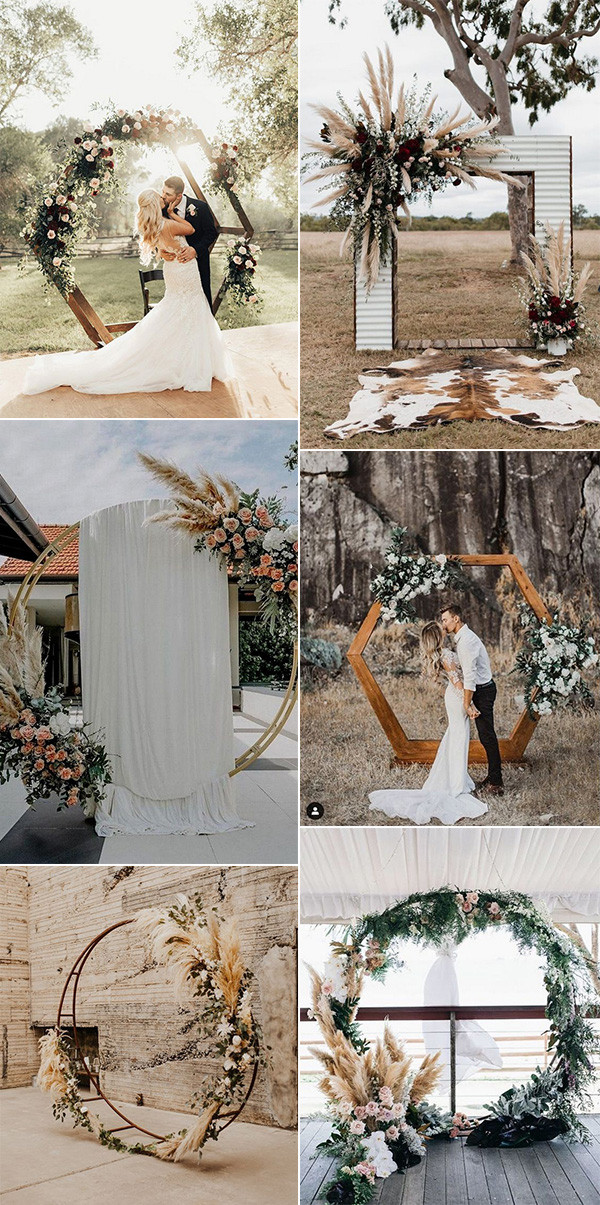 outdoor wedding arch decoration ideas for 2020