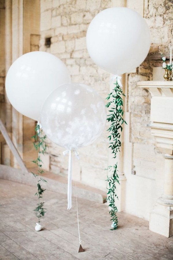 balloon decoraiton ideas for bridal shower parties