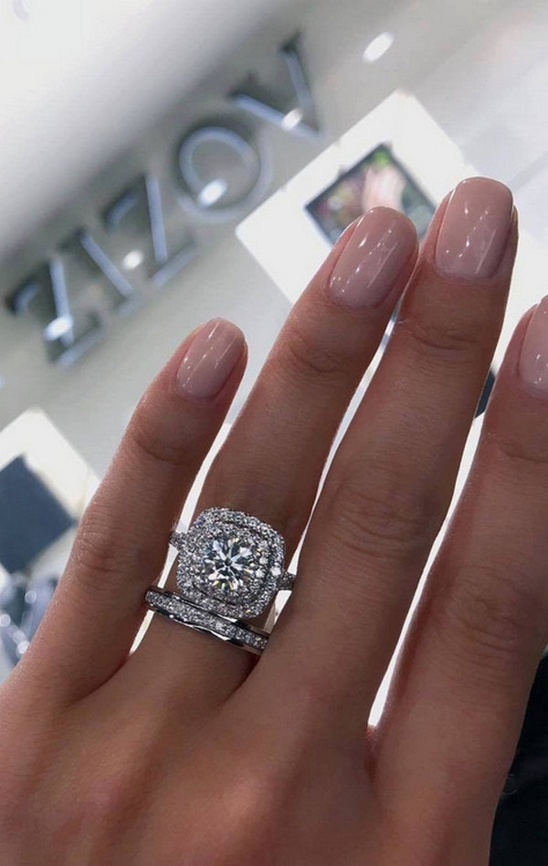 gorgeous wedding rings for 2020 2021 brides 12