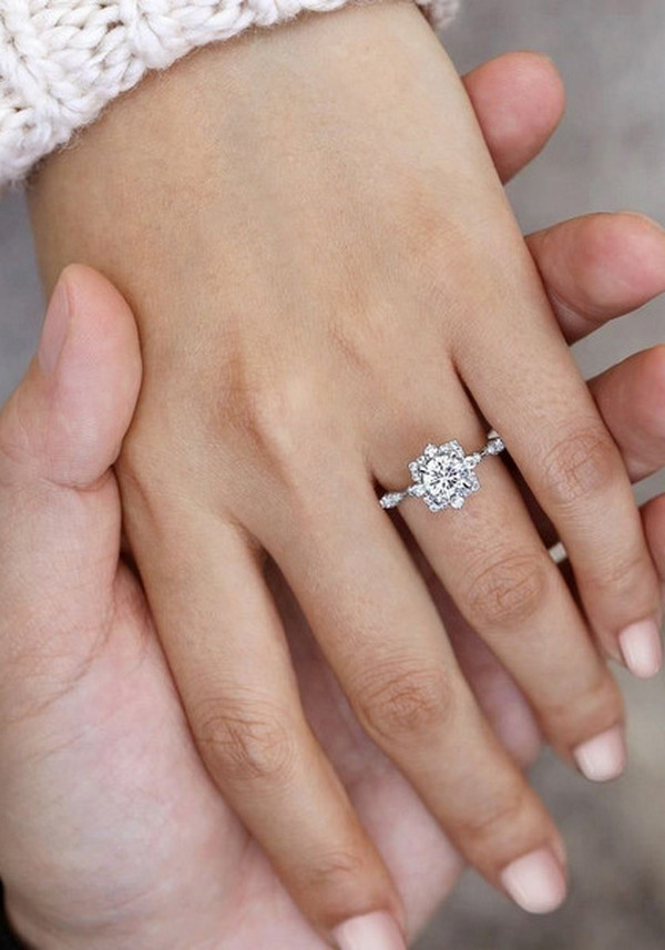 gorgeous wedding rings for 2020 2021 brides 4