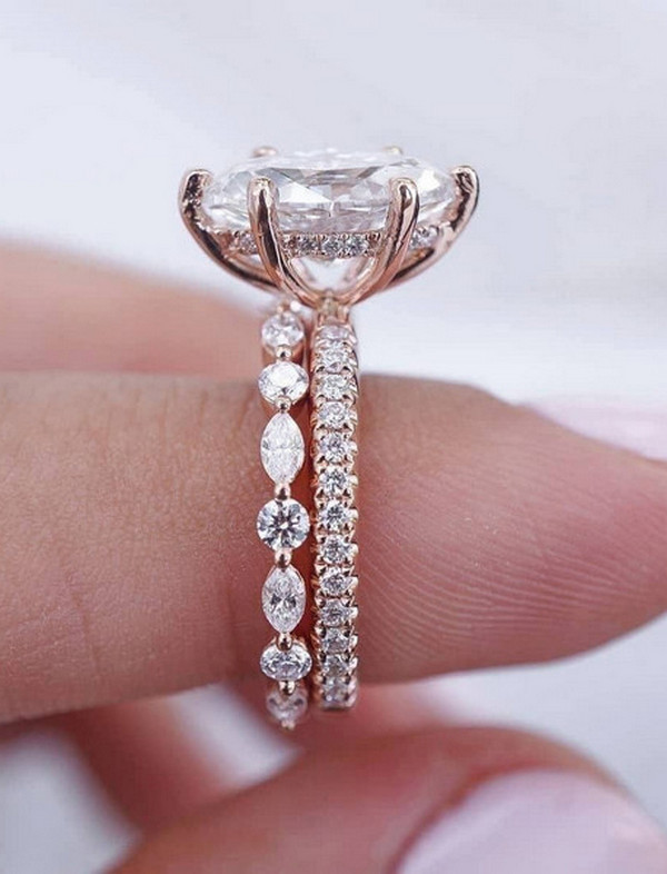 gorgeous wedding rings for 2020 2021 brides 8
