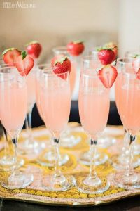 pink bridal shower drink ideas