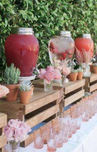 rustic outdoor bridal shower ideas