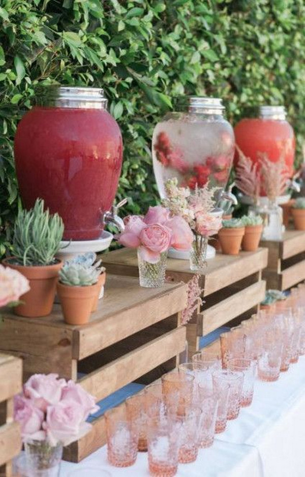 rustic outdoor bridal shower ideas