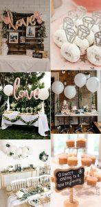 trending chic bridal shower decoration ideas
