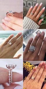 trending wedding engagement rings for 2020 and 2021 brides
