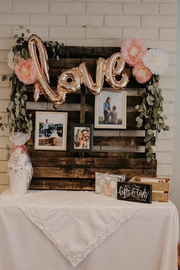 vintage bridal shower decoration ideas