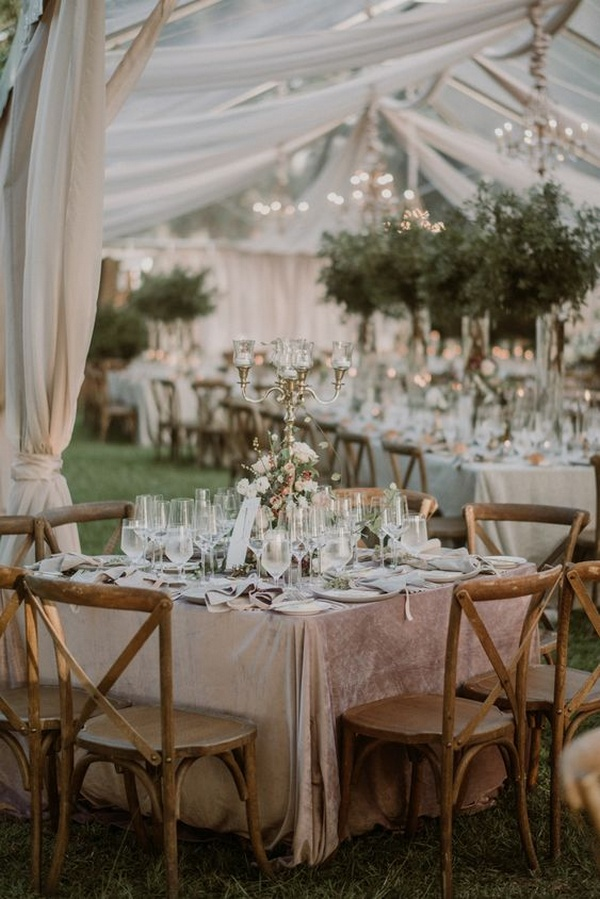chic vintage intimate wedding reception ideas for 2021 trends