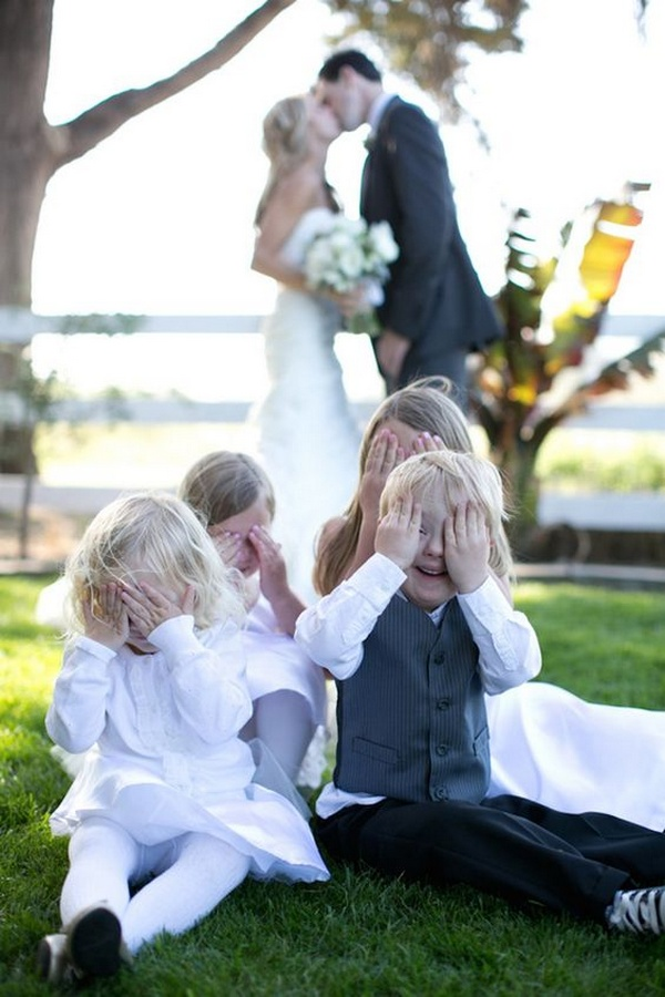 creative wedding photo ideas with kids