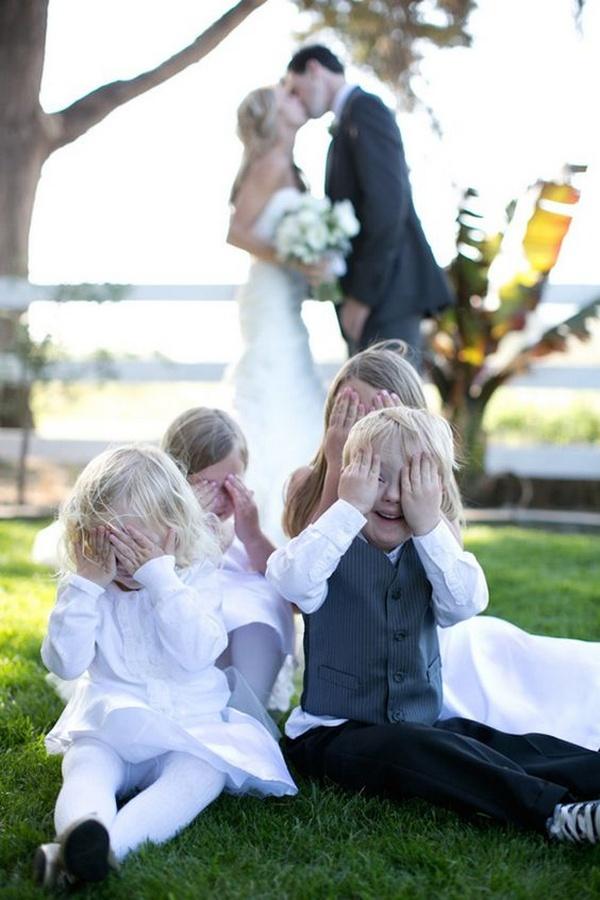 creative wedding photo ideas with kids