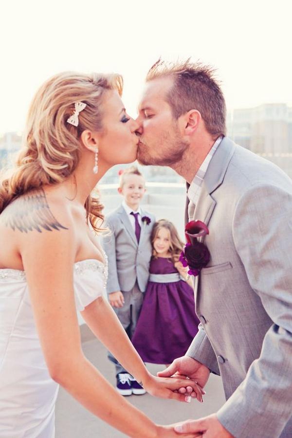 creative wedding photography ideas with kids