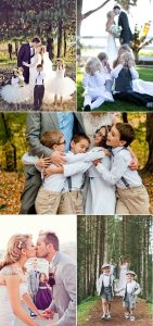 cute wedding photography ideas with kids at weddings