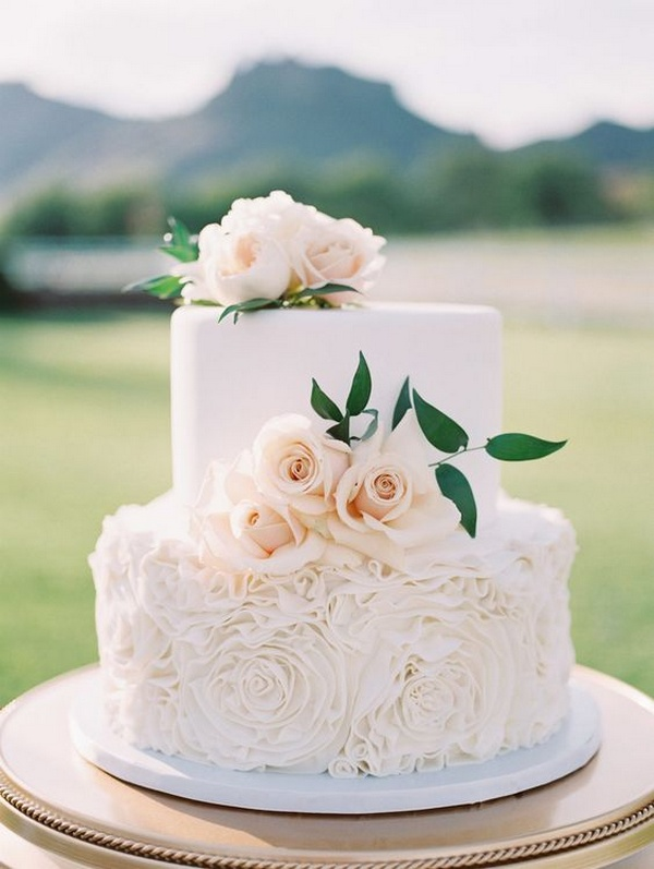 elegant small wedding cake ideas