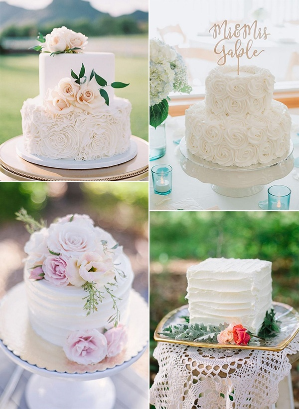 elegant small wedding cakes for intimate weddings