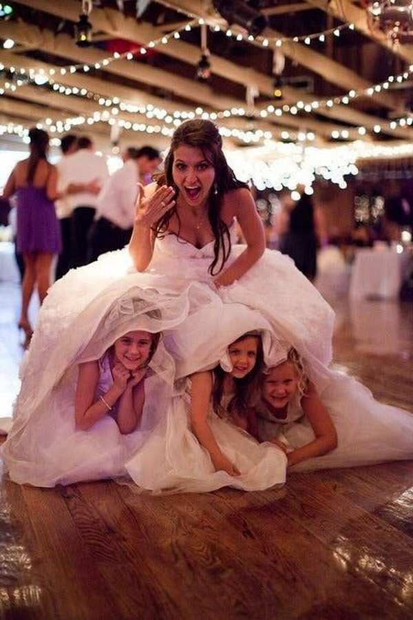 fun wedding photo ideas with kids