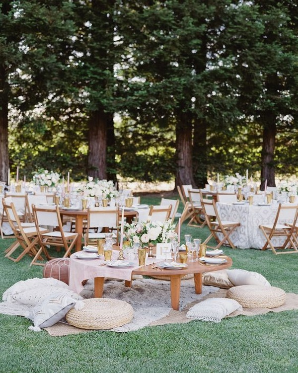 fun wedding reception seating ideas for intimate weddings