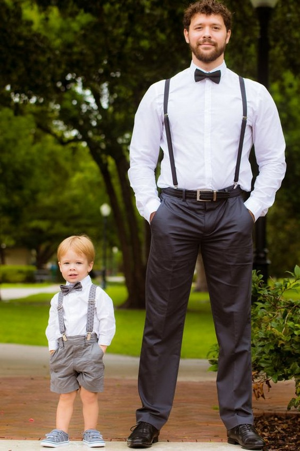 groom wedding photo ideas with kids
