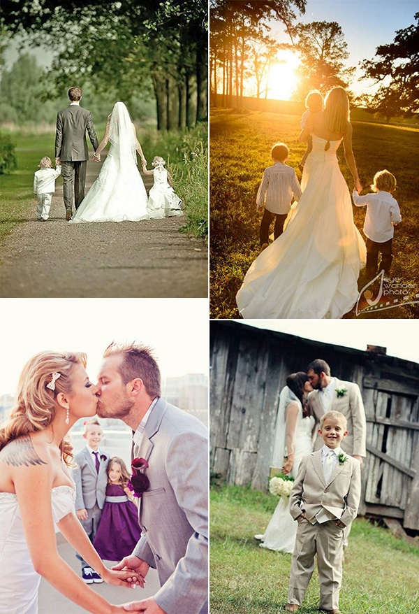 heartwarming wedding photo ideas with kids