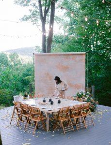 intimate wedding reception setting ideas