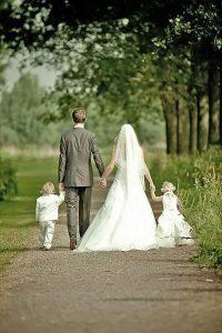 sweet wedding photo ideas with kids