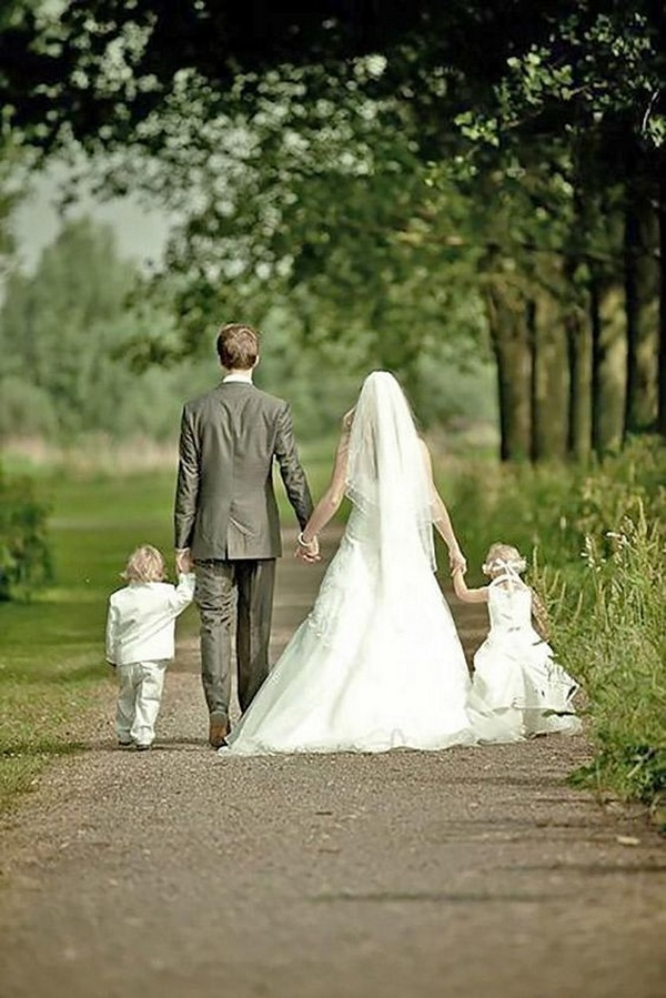 sweet wedding photo ideas with kids