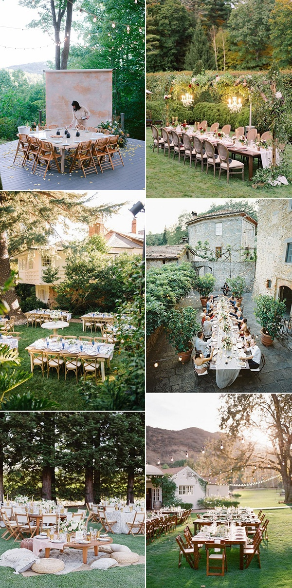 trending small intimate wedding reception ideas for 2021