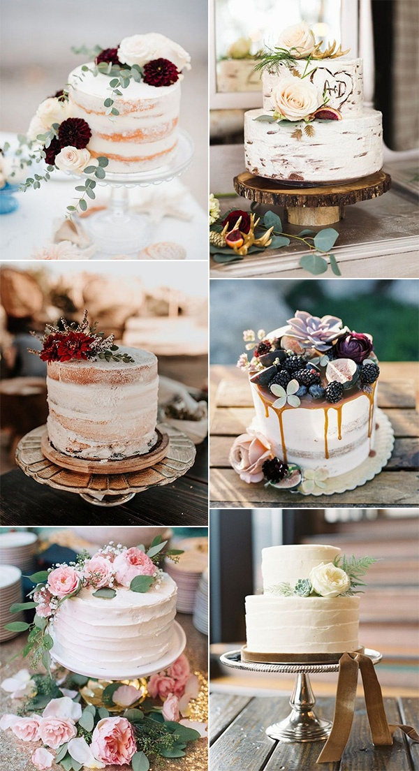trending small wedding cakes for intimate weddings