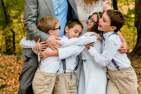 wedding photography ideas with kids