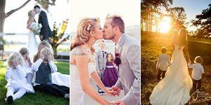 wedding photos of kids at weddings