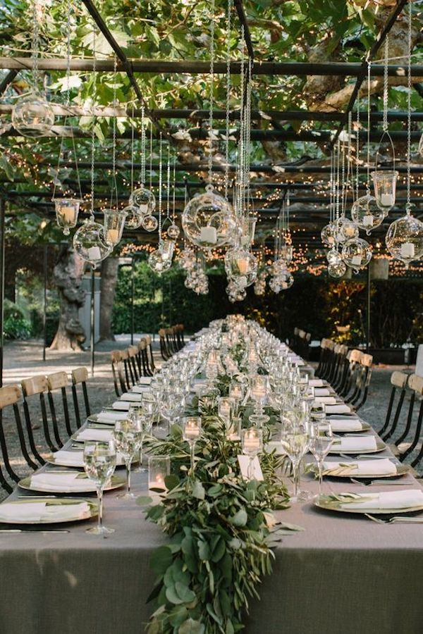 garden wedding reception ideas with lights