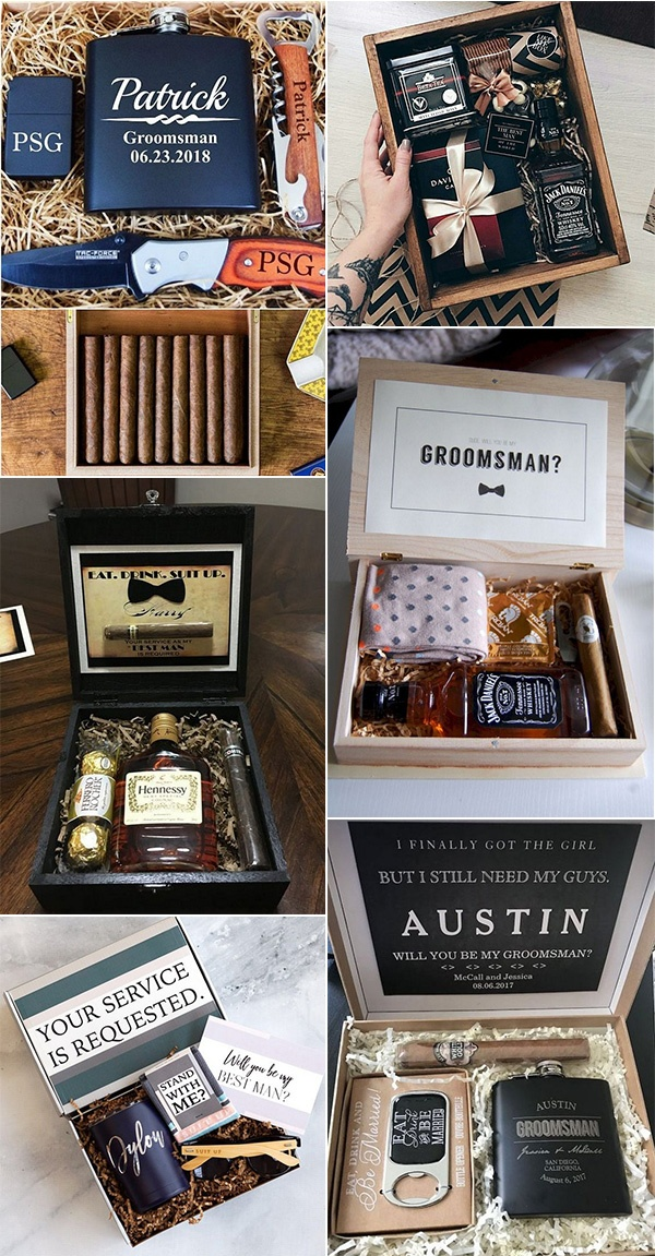 groomsmen gift box ideas he will love