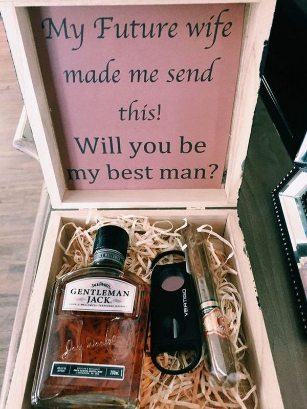 groomsmen proposal gift ideas