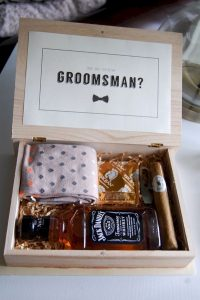 groomsmen proposal wedding gift ideas