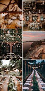 outdoor wedding reception lighting ideas for 2021