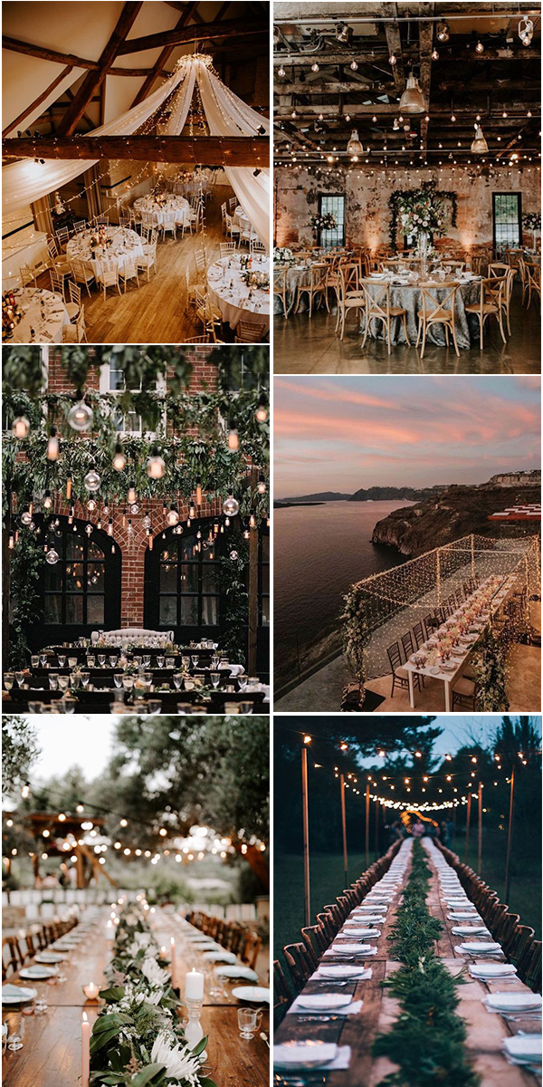 outdoor wedding reception lighting ideas for 2021