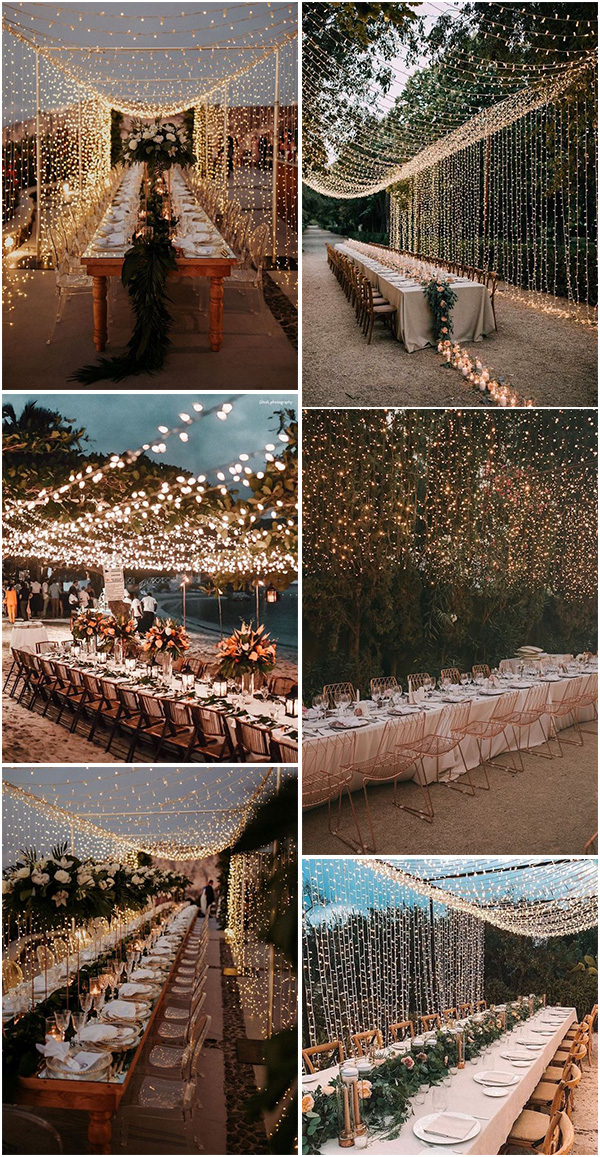 stunning wedding reception lighting ideas for 2021 trends