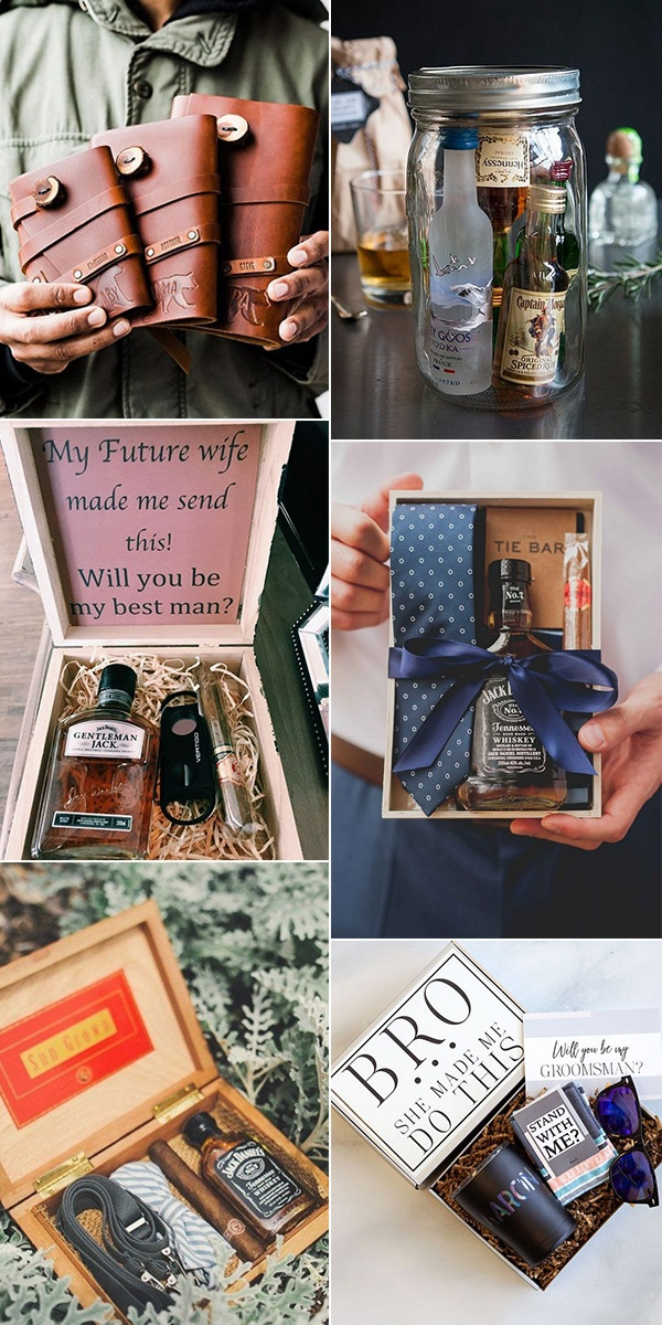 trending groomsmen proposal gift ideas