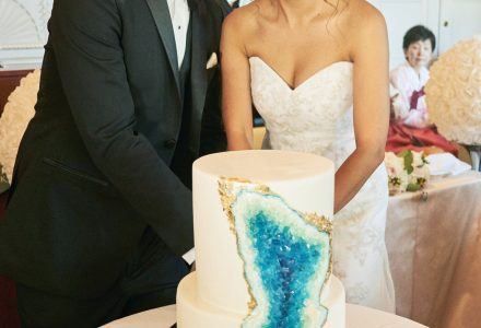 Wedding cake by for the love of cake