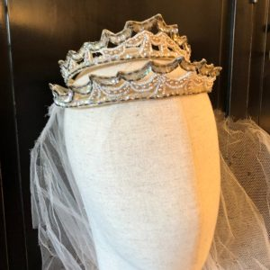 1930S Beads & Sequins Double Tiara Headpiece Perfect For A Bride