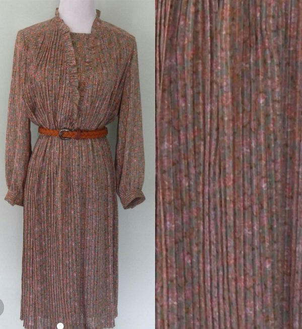 1980's Formal Day Dress Size 10