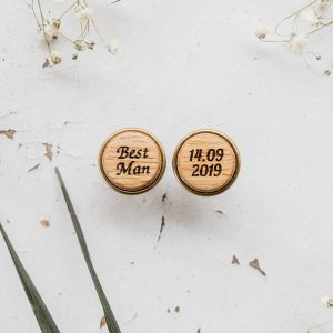Best Man Cuff Links, Wedding Men Gift, Wooden Links, Mens Suit Accessories, Personalized Gift