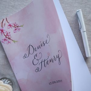 Blush Watercolour With Floral Wedding Suite For Dee - Stage 3