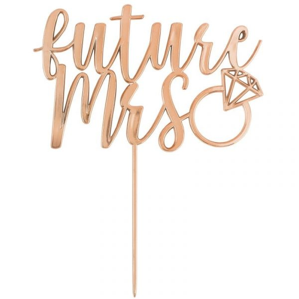 Bridal Shower Cake Topper Future Mrs Decorations Supplies