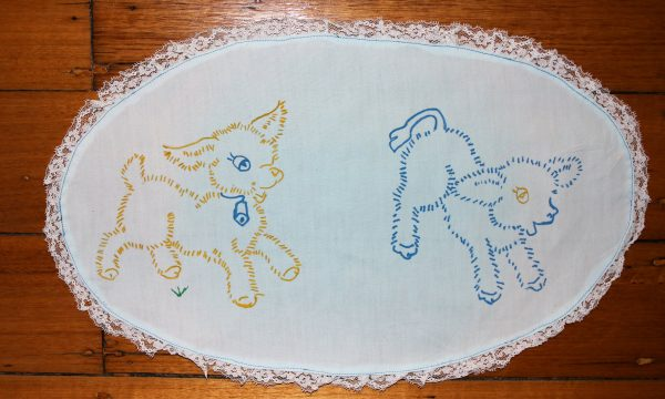 Centrepiece - Tablemat Baby Animal Linen