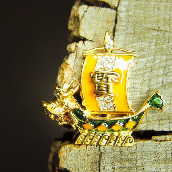 Chinese Boat Brooch #5415