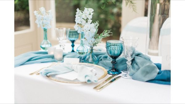Custom-Dyed Silk Table Runner, Hand-Dyed To Order in A Shade Of Your Choice. Silk Fabric, Styling, Wedding Styling, Gauze
